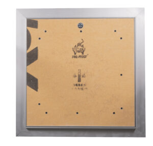 Fire resistant shaft cover